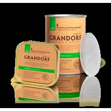 Влажный консервированный корм для взрослых собак всех пород Grandorf 400 гр.