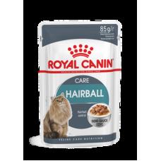 Влажный корм в соусе для вывода шерсти Royal Canin Hairball Care 85 гр.