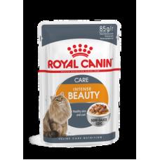 Влажный корм в соусе для здоровья кожи и шерсти  Royal Canin Intense Beauty 85 гр.