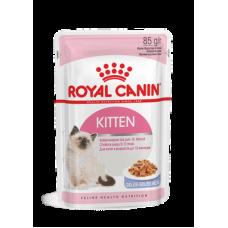 Влажный корм в желе для котят Royal Canin Kitten 85 гр.