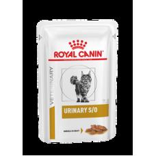 Влажный корм в соусе  диетический от камней для взрослых кошек Royal Canin Urinary S/O 85 гр.
