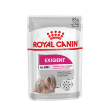 Паштет полнорационный корм для привередливых собак Exigent Canin Adult 85 гр.