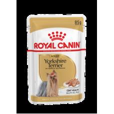 Паштет полнорационный корм для породы йоркширский терьер Yorkshire Terrier Adult 85 гр.