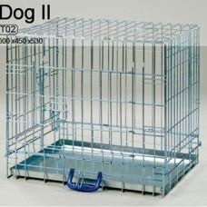 Клeтка для собак T02 DOG II 600x450x530 мм