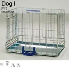 Клeтка для собак T02 DOG II 500х300х400 мм